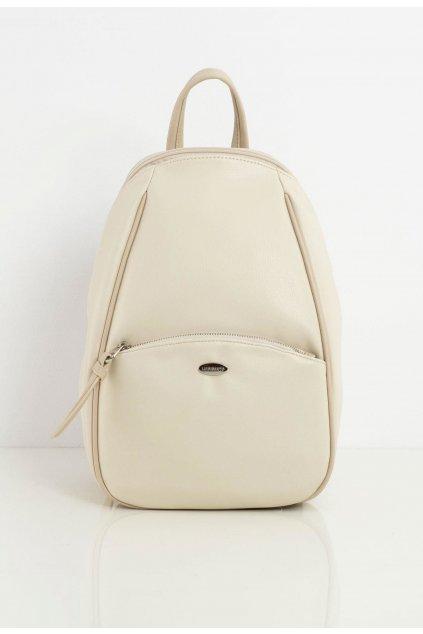 Bézs női hátizsák