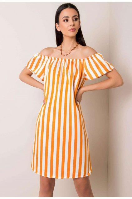 Narancs női boho ruha