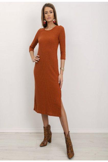 Narancs női kötött ruha