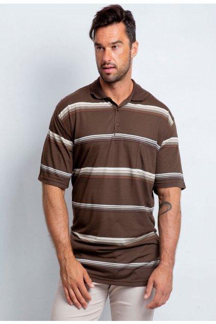 Barna férfi pólóing