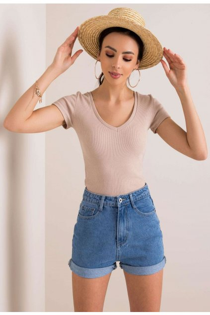 Bézs női póló