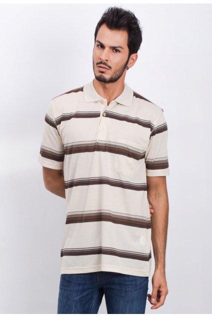 Bézs férfi pólóing