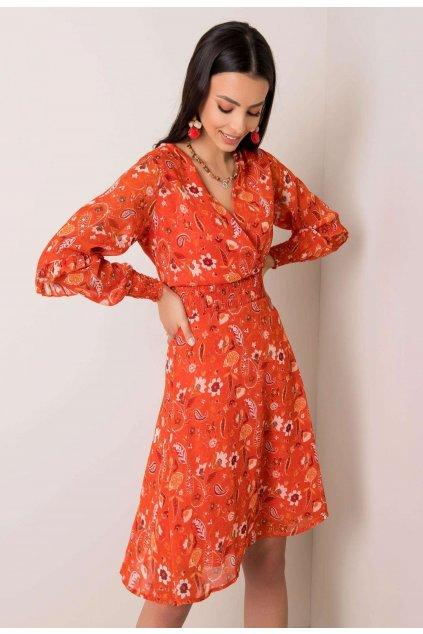 Narancs női ruha