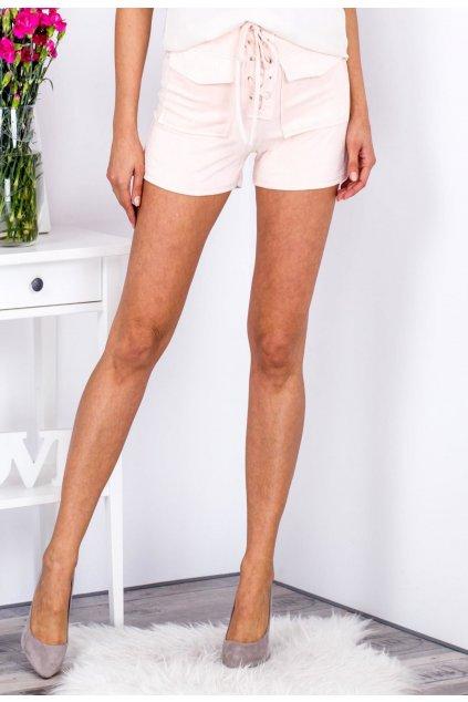 Őszibarack női rövidnadrág