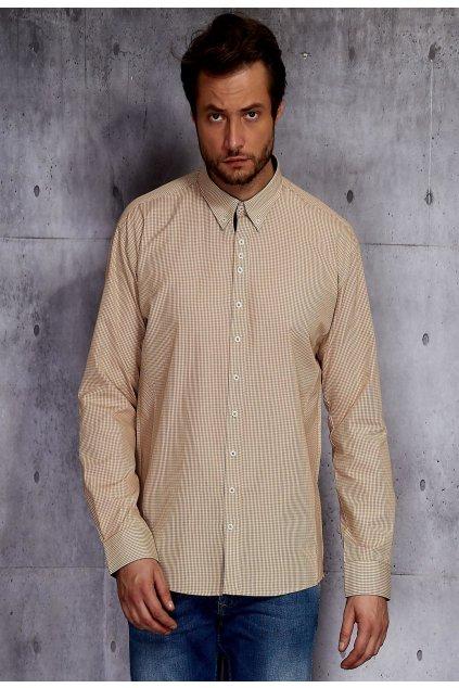 Bézs férfi ing