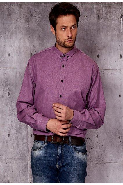 Burgundia férfi ing