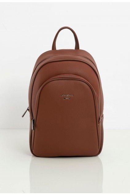 Barna női hátizsák