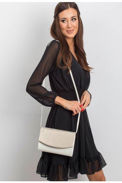 Tejszínes női estélyi táska