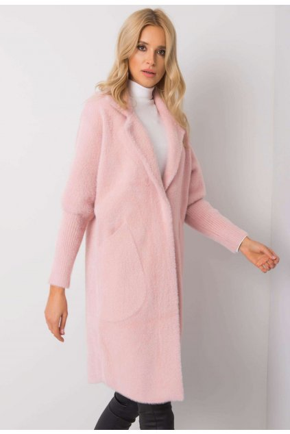Rózsaszín női kabát