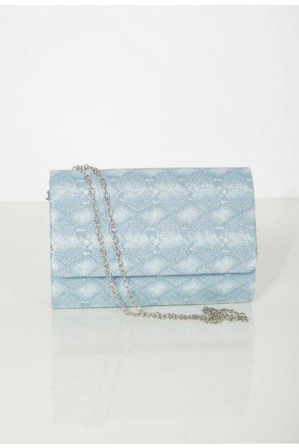 Kék női estélyi táska