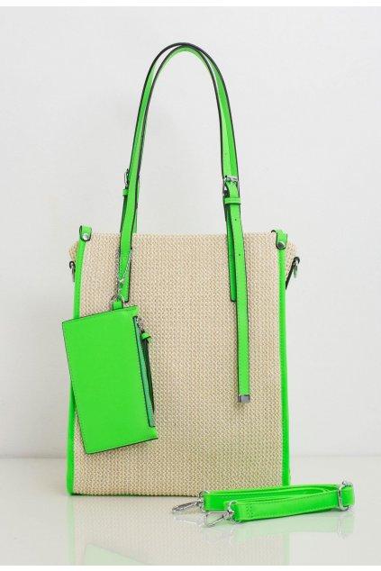 Zöld női válltáska