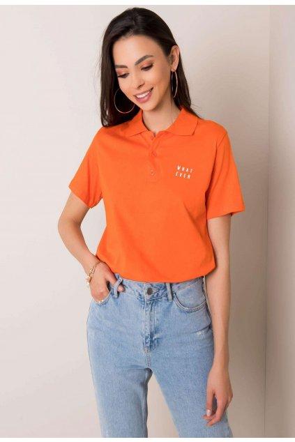 Narancs női pólóing