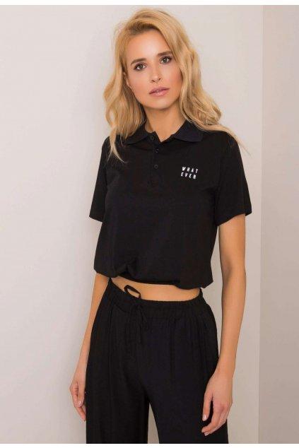 Fekete női pólóing