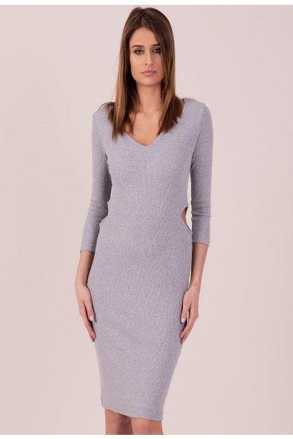 Szürke női kötött ruha