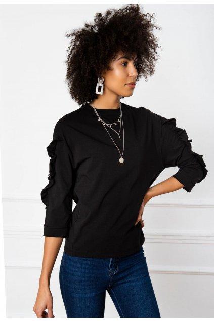 Fekete női blúz