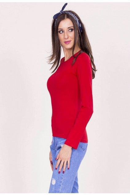 Piros női blúz