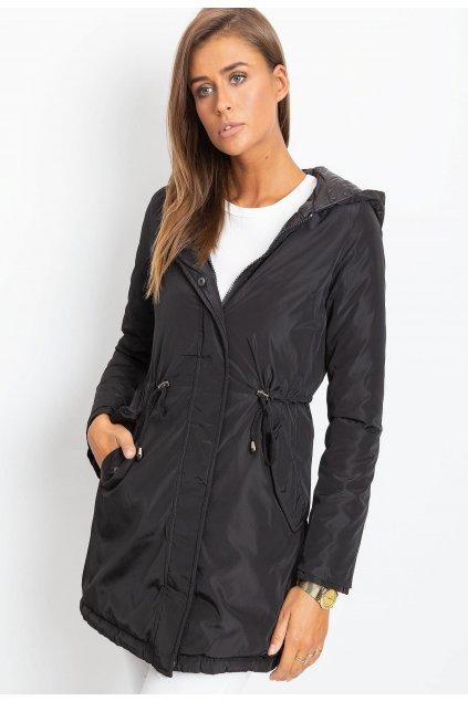 Fekete női átmeneti dzseki