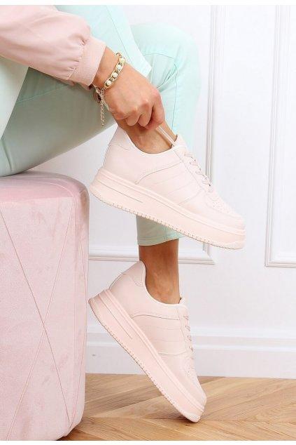 Rózsaszín női edzőcipő