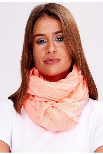 Narancs női kendő
