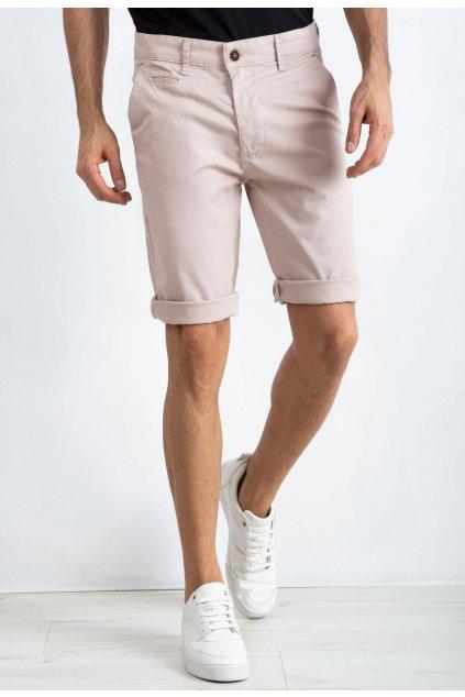 Bézs férfi rövidnadrág