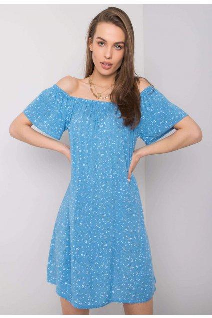 Kék női boho ruha