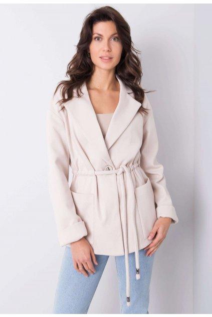 Bézs női kabát