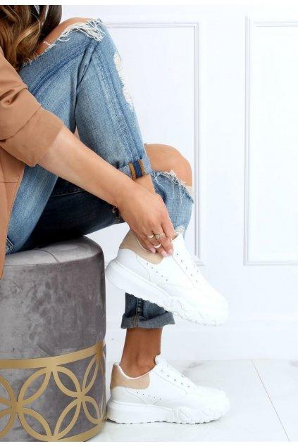 Fehér női edzőcipő