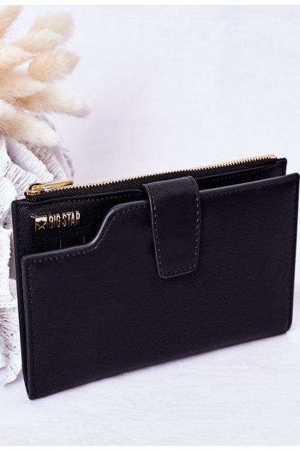 Fekete női pénztárca