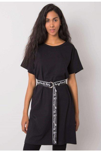 Fekete női tunika