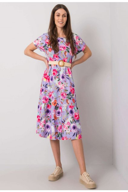 Lila női ruha