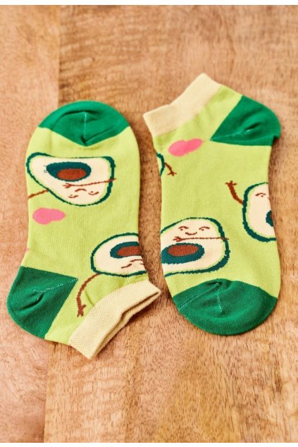 Zöld női zokni