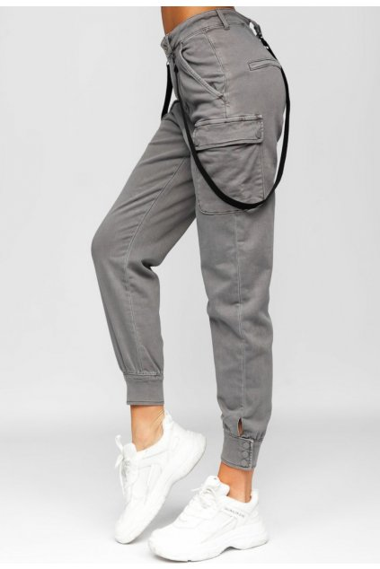 Szürke női nadrág