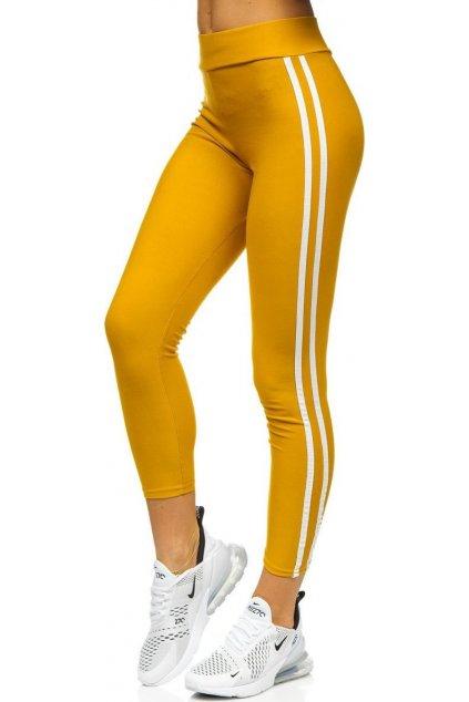 Barna női leggings