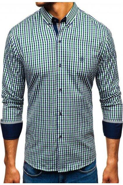 Zöld férfi ing