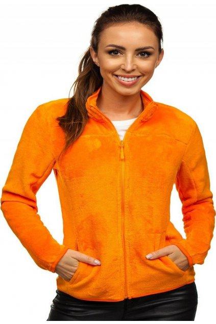 Narancs női melegítőfelső