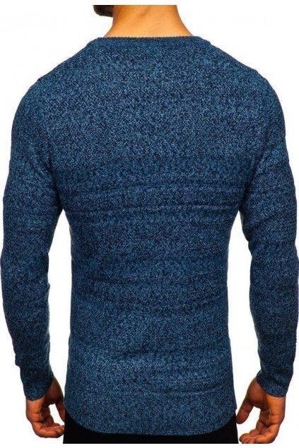 Kék férfi szvetter