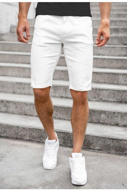 Fehér férfi rövidnadrág