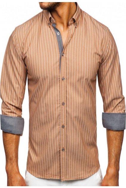 Barna férfi ing