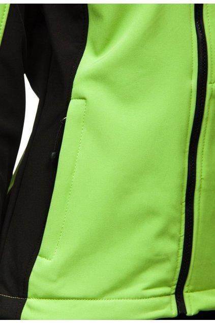 Zöld női átmeneti dzseki