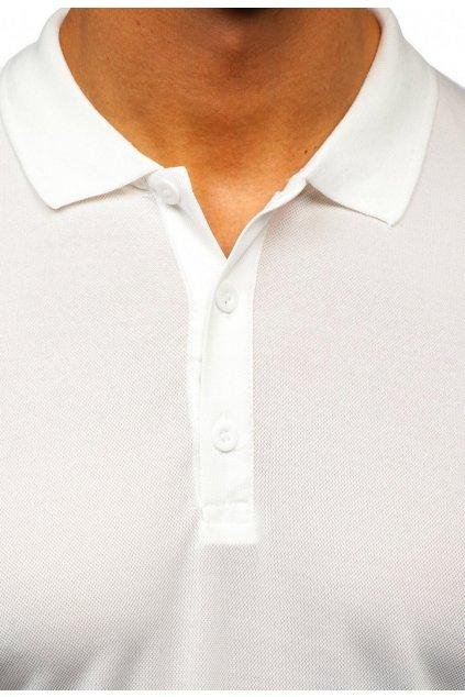 Fehér férfi pólóing