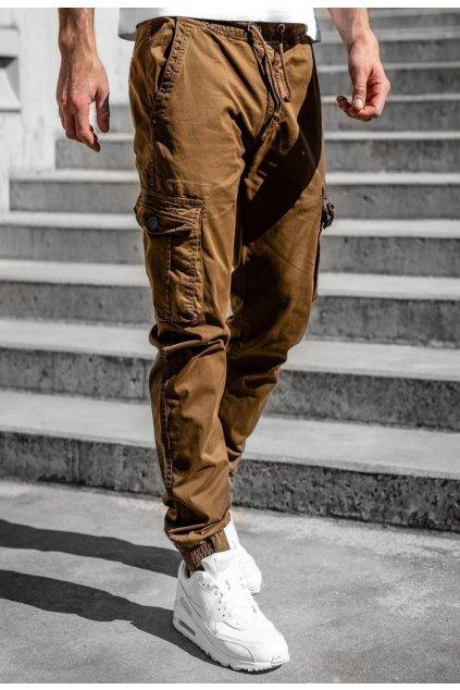 Barna férfi nadrág