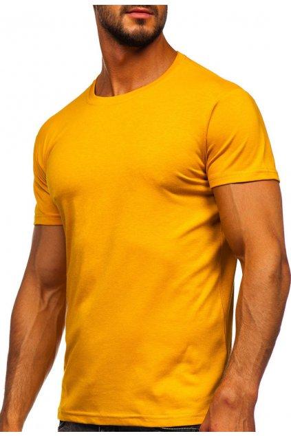 Barna férfi póló