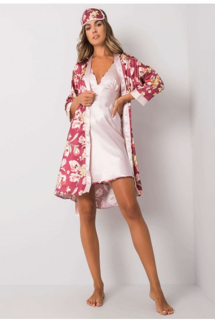 Burgundia női hálóruha