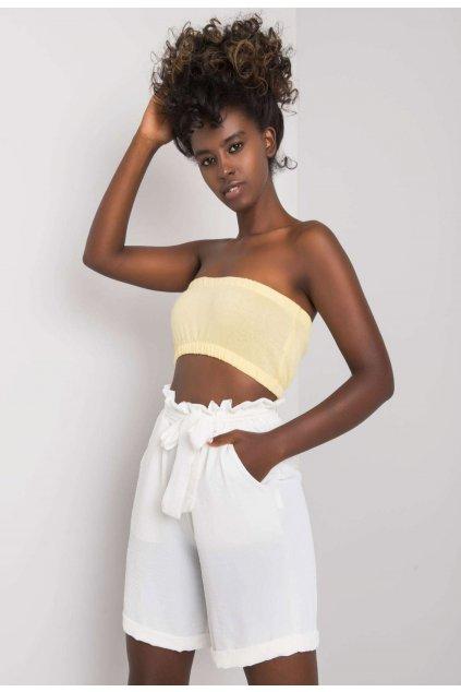 Fehér női rövidnadrág