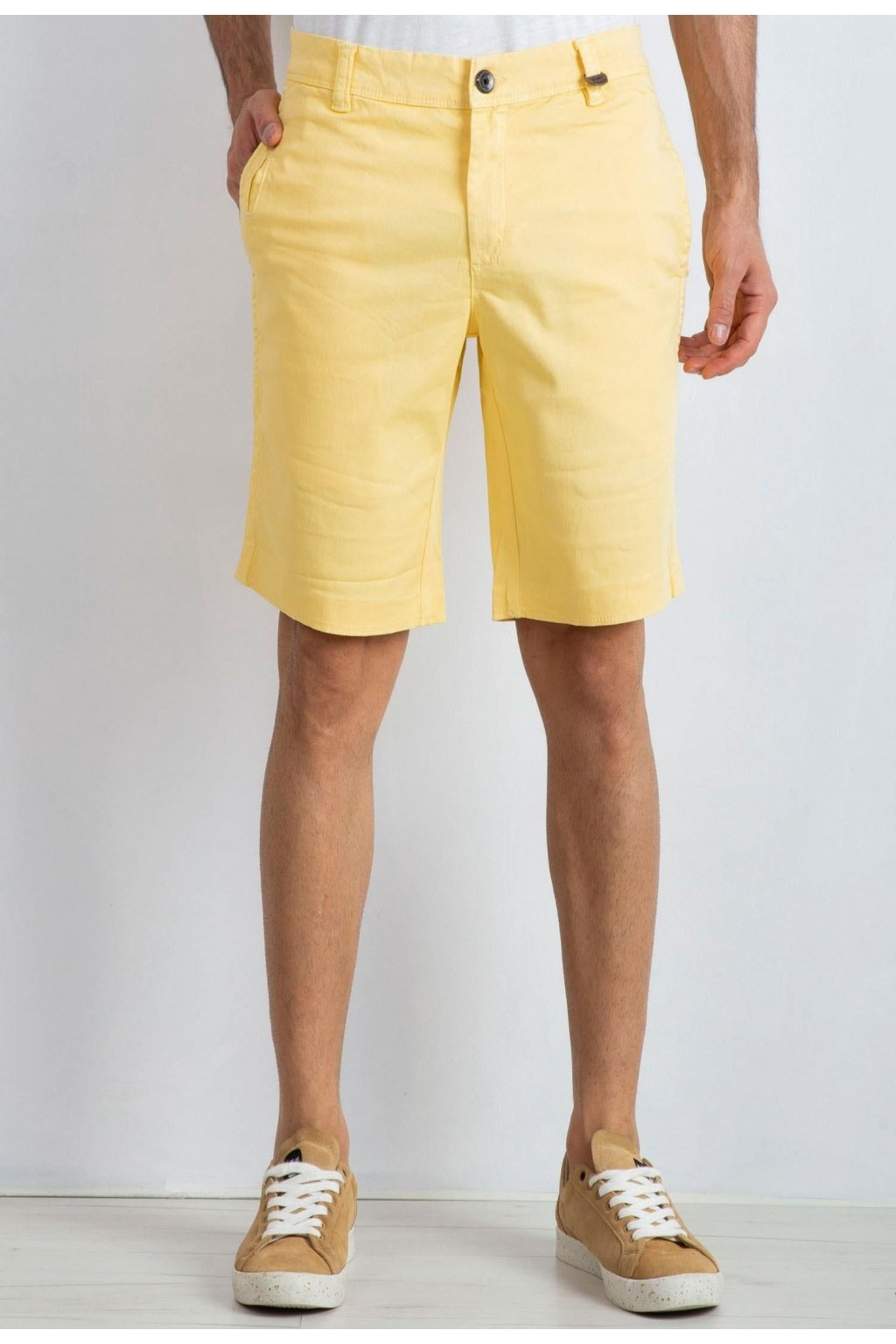 Žlté pánske kraťasy