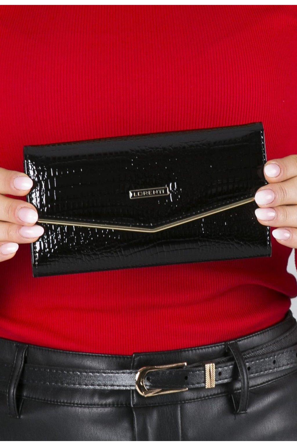 Čierna dámska peňaženka