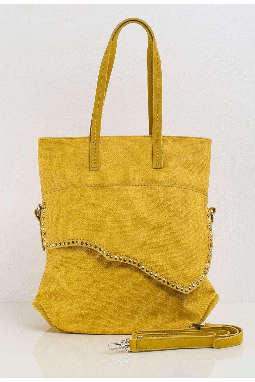 Limetková dámska kabelka
