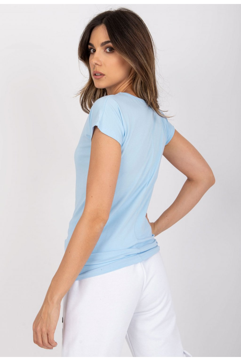 Modré dámske tričko