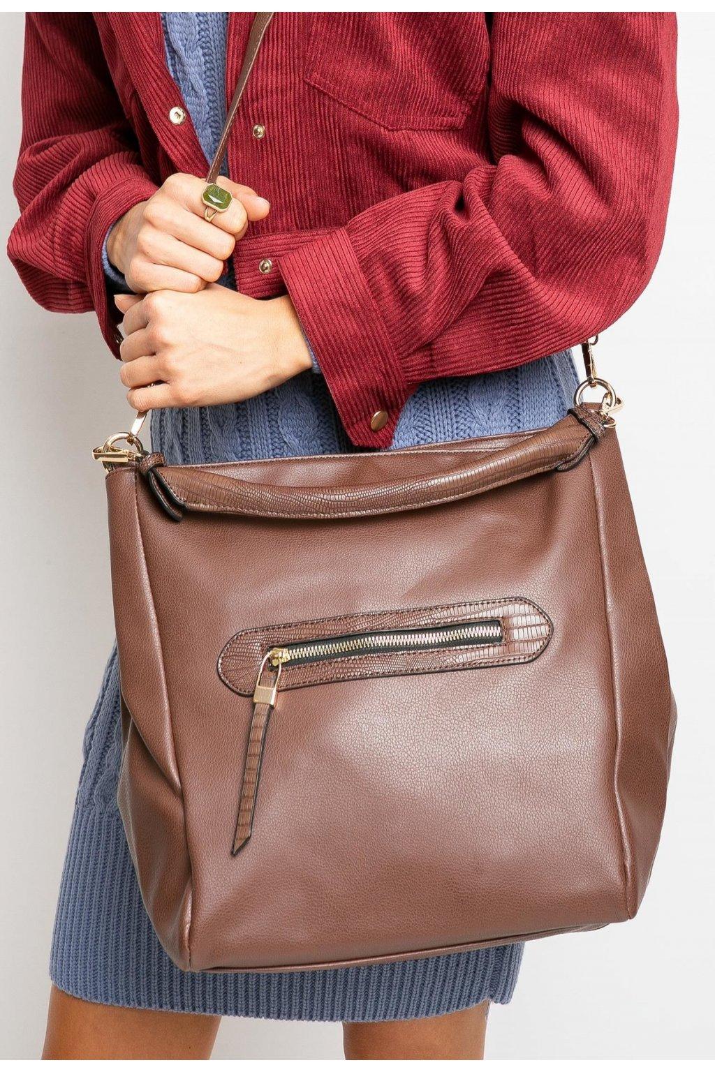 Hnedá dámska kabelka