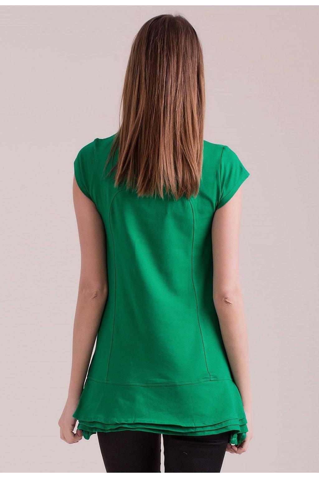 Zelená dámska tunika